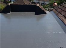 Fibre glass roof system