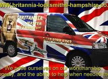 Britannia locksmiths waterlooville Van