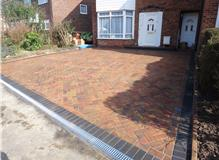 Front Driveway installation in Omega paving