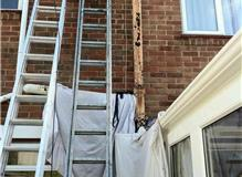 Replacment of a cast iron soil pipe