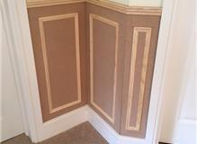 Panelling to a hallway