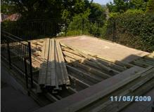 Softwood Decking and Balustrade