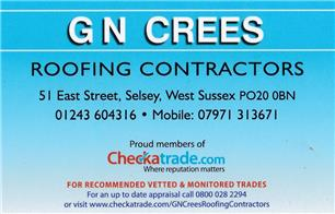 G N Crees Roofing Contractors