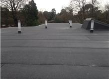 Andersons three layer flat roof system