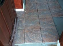 Tiling in Porch