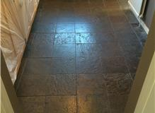 Kitchen and utility tiled and under floor heating