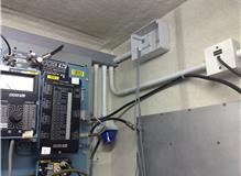 BBC porta cabin power install