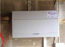 Replaced consumer unit.