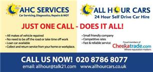 All Hour Car Hire/AHC Services