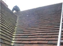 Recent tiled roof, carried out within Brighton