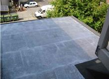 Flat roof replacement and lead works.