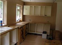 New kitchen and refurbishment.