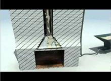 theremocrete chimney lining video how its done