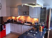 Kitchen make over. Granite tops repaint units
