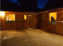 Lighting and power for new stables.