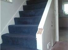 Replacement flooring to kitchen, hall, stairs and landing