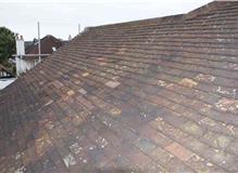 Plain clay tile roof