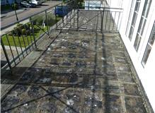 promade tiled balcony roof