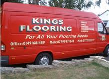 Kings Flooring Fitting van