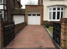 new block paved drive with delta blocks in hampton