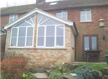 Rotherfield Single storey extension with sunburst window