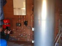 Full Central Heating and Unvented Cylinder