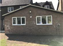 single storey extension warfield