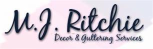 M J Ritchie Decor & Guttering Services