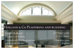Holland & Co Plastering