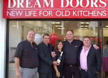 Stuart, Mark and Nicola Douthwaite together with Head Office