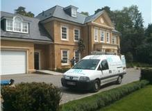 Regular window clean in Farnham