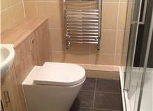 Bathroom refit at London SE23 area
