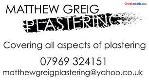 Matthew Greig Plastering