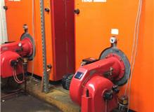 Forced Draught Burner Boilers in Hotel