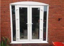 New Upvc replacement french doors