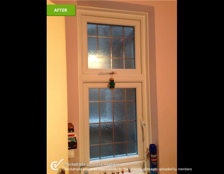New Upvc windows fitted in Harborne