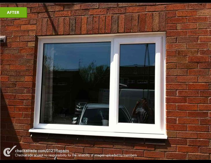 House full of upvc windows fitted in Northfield