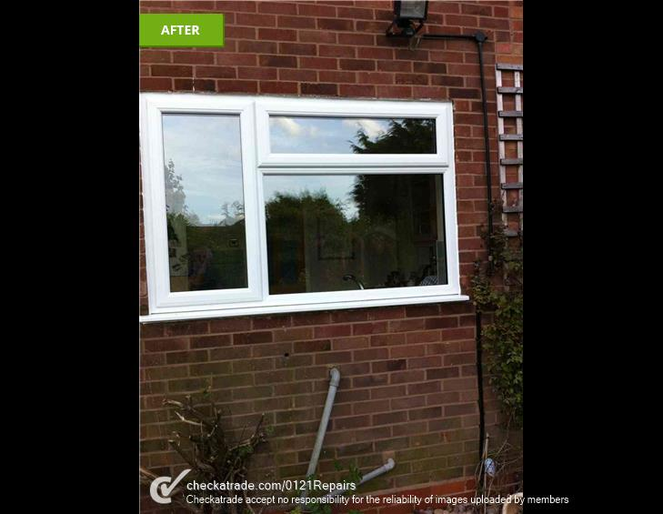 8 new upvc windows fitted.