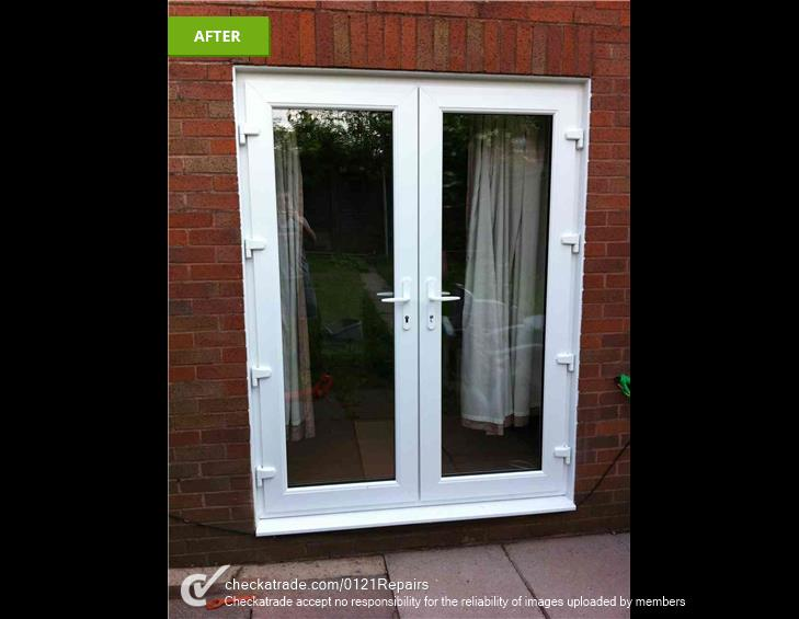 French door brick knock out Northfield