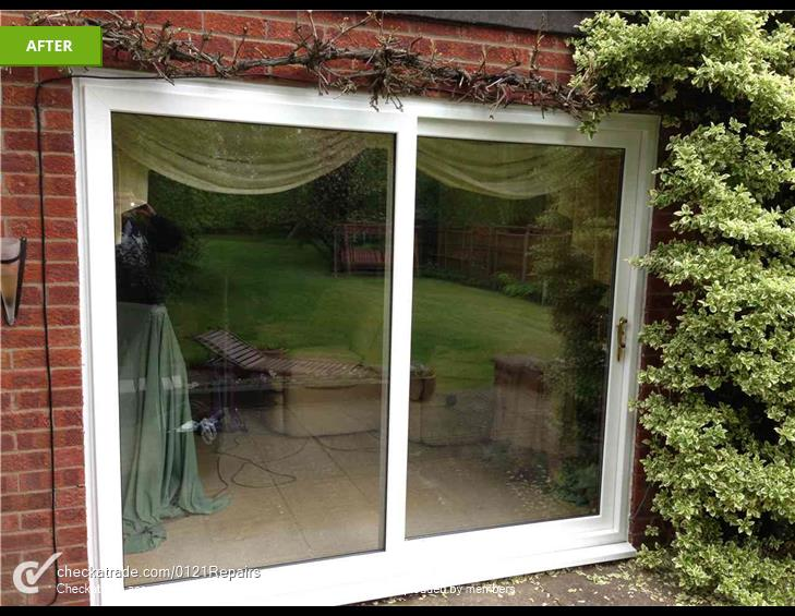 Replace patio for UPVC.