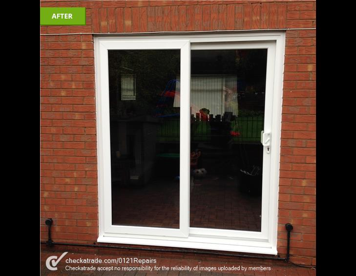 Upvc patio fitted Tipton.