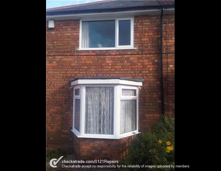 Bay window and bedroom window replaced in Shirley