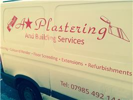 A * Plastering