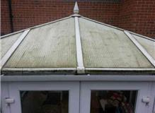 Dirty Conservatory Roof