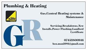 GR Plumbing & Heating