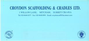 Croydon Scaffolding & Cradles Limited