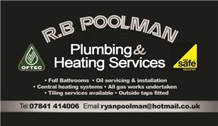 R B Poolman Plumbing & Heating