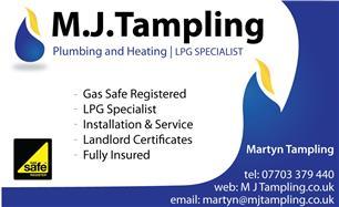 MJ Tampling Plumbing & Heating