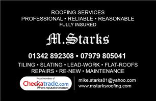 M Starks Roofing
