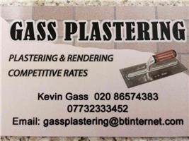 Gass Plastering, Painting & Decorating
